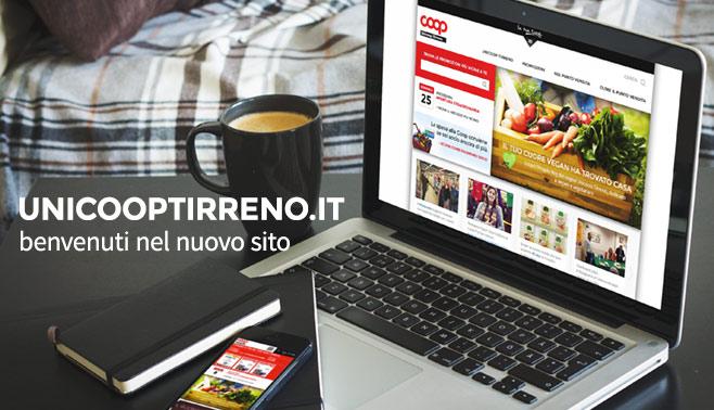 Benvenuti nel nuovo sito di Unicoop Tirreno