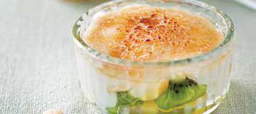 Risultati immagini per Crème brûlée alla frutta