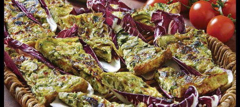 Frittata di zucchine e cipolle
