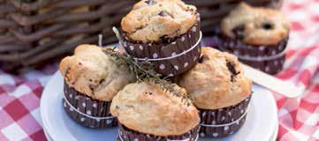Muffin con pomodori secchi e olive taggiasche
